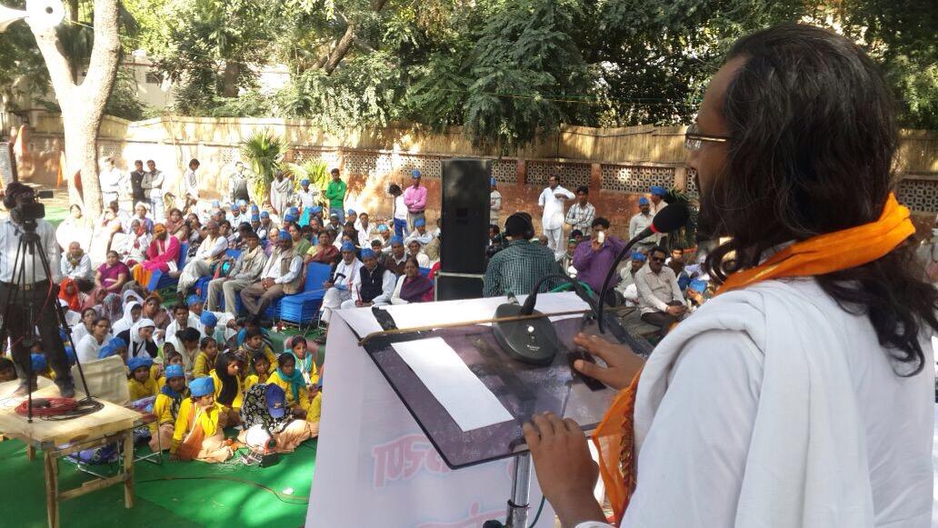 Chaitavani Rally (warning rally) and Sankalpa Day