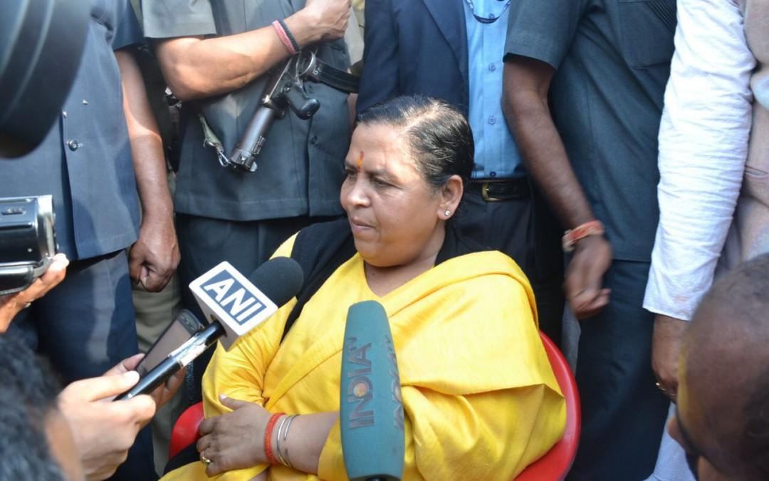 Union Water Resources Minister Shri Uma Bharti Visited Yamuna Muktikaran Padyatra At Palwal